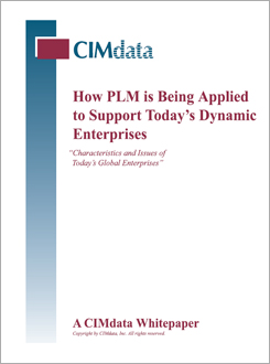 CIMdata: How PLM is Being Applied to Support Today's Dynamic Enterprises
