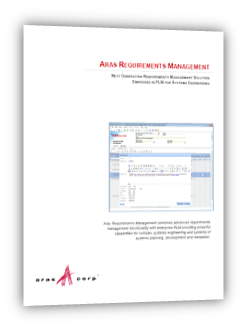 Aras Requirements Management - Product Brief