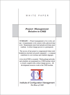 CMII Change Management with PMI Project Management